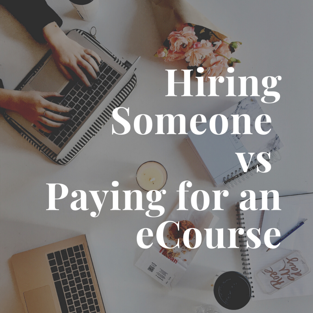 hiring vs ecourse