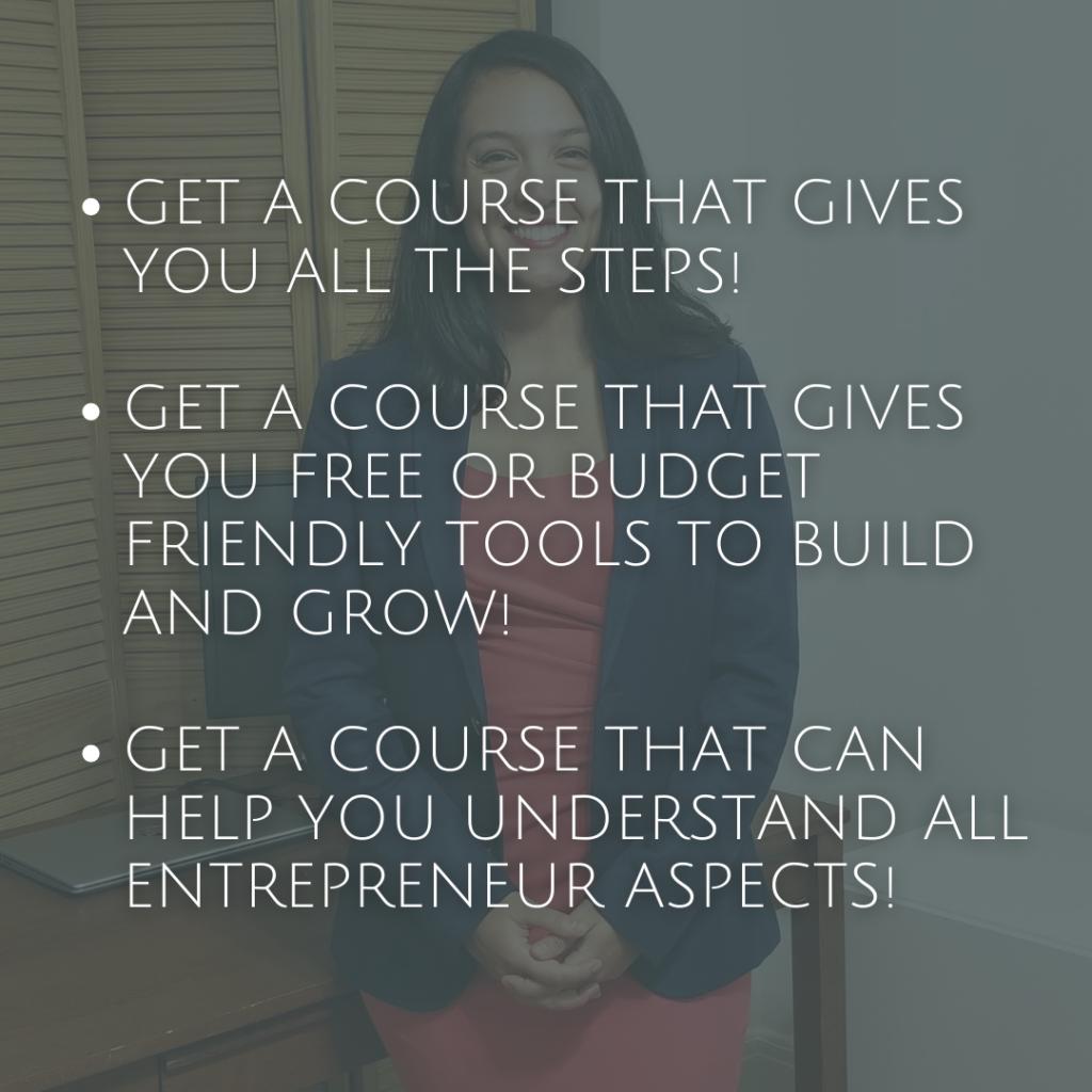 Build a Business eCourse